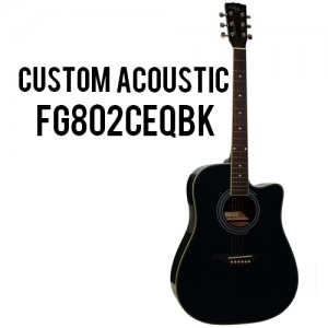 Custom Acoustic FG802CEQBK