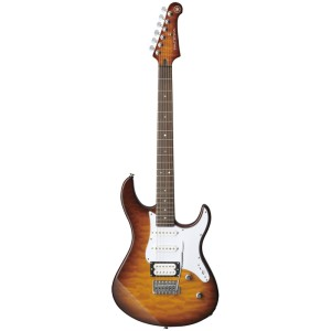 Yamaha Pacifica 212VQM Tobacco Brown Sunburst