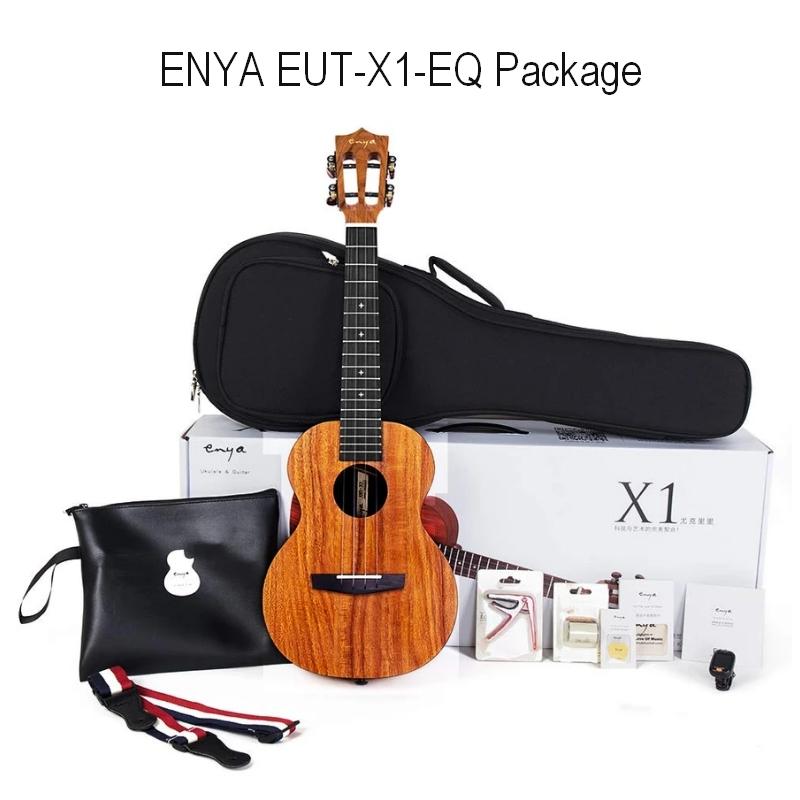 Enya EUT-X1-EQ Tenor Ukulele Package