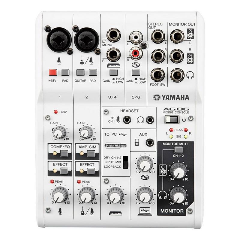 Yamaha AG06 Mixing Console