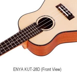 Enya Kaka KUC28D Solid Spruce Top Concert