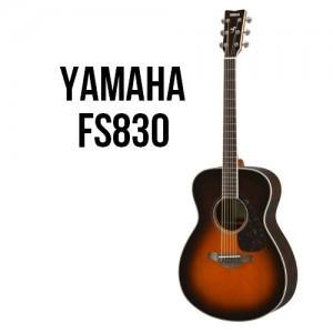Yamaha FS830 Tobacco Brown Sunburst