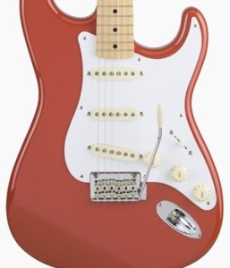 Fender Japan Hybrid 50s Stratocaster Fiesta Red