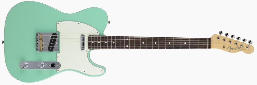 Fender Japan Hybrid 60s Telecaster Surf Green