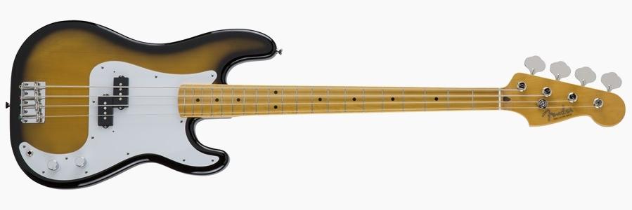 Fender Japan Traditional 50s Precision Bass 2-Tone Burst
