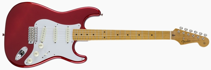 Fender Japan Traditional 50s' Stratocaster Candy Apple Red
