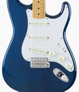 Fender Japan Traditional 58 Stratocaster Sapphire Blue Transparent