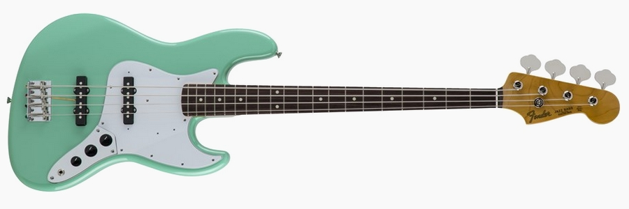Fender Japan Traditional 60s Jazz Bass Surf Green