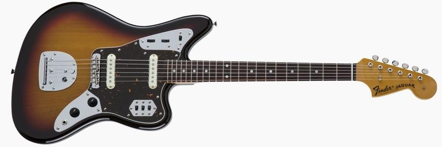 Fender Japan Traditional 60s Jaguar 3-Tone Sunburst