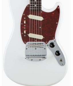 Fender Japan Traditional 60s Mustang Arctic White