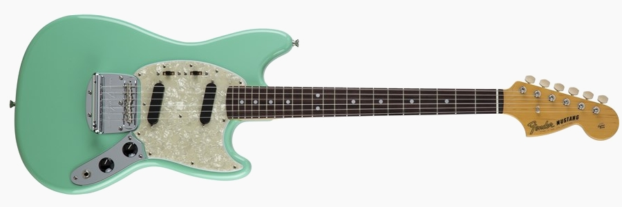 Fender Japan Traditional 60s Mustang Surf Green