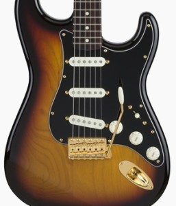 Fender Japan Traditional 60s Gold Hardware Stratocaster 3-Tone Sunburst
