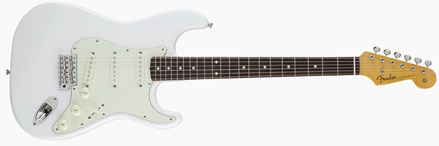 Fender Japan Traditional 60s Stratocaster Arctic White