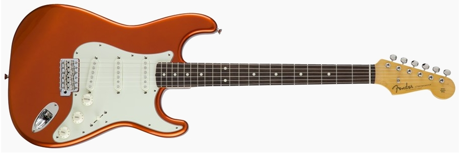 Fender Japan Traditional 60s Stratocaster Candy Tangerine