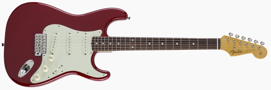 Fender Japan Traditional 60s Stratocaster Torino Red