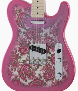 Fender Japan Traditional 69 Telecaster Pink Paisley