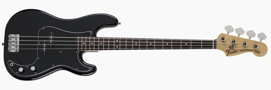 Fender Japan Traditional 70s Precision Bass Black
