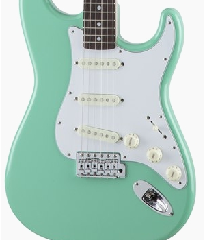 Fender Japan Traditional 70s Stratocaster Surf Green