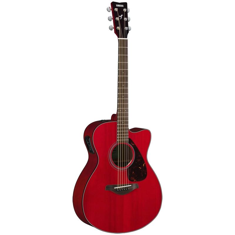Yamaha FSX800C Ruby Red